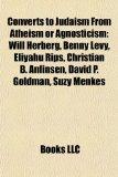 Portada de CONVERTS TO JUDAISM FROM ATHEISM OR AGNO