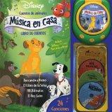 Portada de DISNEY CUENTOS DE ANIMALES /DISNEY STORIES OF ANIMALS: MUSICA EN CASA / MUSIC AT HOME