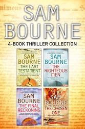 Portada de SAM BOURNE 4-BOOK THRILLER COLLECTION