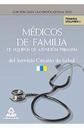 Portada de MEDICOS DE FAMILIA DE EQUIPOS DE ATENCION PRIMARIA DEL SERVICIO CANARIO DE SALUD. TEMARIO. VOLUMEN II