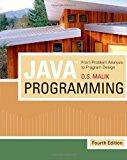 Portada de JAVATM PROGRAMMING: FROM PROBLEM ANALYSIS TO PROGRAM DESIGN (INTRODUCTION TO PROGRAMMING) BY D. S. MALIK (2009-04-02)