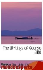 Portada de THE WRITINGS OF GEORGE ELIOT