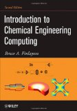 Portada de INTRODUCTION TO CHEMICAL ENGINEERING COMPUTING