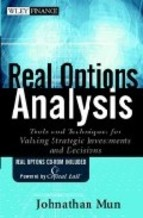 Portada de REAL OPTIONS ANALYSIS: TOOLS AND TECHNIQUES FOR VALUING STRATEGIC INVESTMENTS AND DECISIONS (WILEY FINANCE)