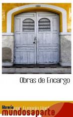 Portada de OBRAS DE ENCARGO