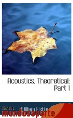 Portada de ACOUSTICS, THEORETICAL: PART 1