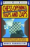 Portada de CHESS OPENINGS: TRAPS AND ZAPS (FIRESIDE CHESS LIBRARY) BY BRUCE PANDOLFINI (1989-04-15)