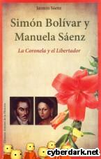 Portada de SIMÓN BOLÍVAR Y MANUELA SÁENZ - EBOOK