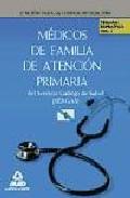 Portada de MEDICOS DE FAMILIA DE ATENCION PRIMARIA DEL SERVICIO GALLEGO DE S
