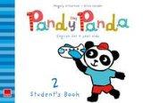 Portada de PANDY THE PANDA STUDENT'S BOOK 2+ CD