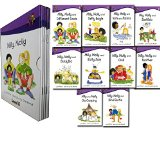 Portada de READ AT HOME LEVEL 5 MILLY MOLLY 10 CHILDREN'S BOOKS BOX SET SCHOOL READING COLLECTION AGE 5-7