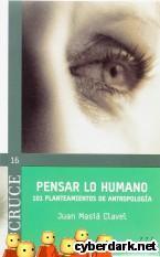 Portada de PENSAR LO HUMANO (EBOOK-EPUB) - EBOOK