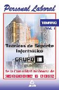 Portada de TECNICOS DE SOPORTE INFORMATICO DE LA COMUNIDAD DE CASTILLA Y LEON: TEMARIO