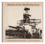 Portada de SAILORS OF THE BATTLESHIP NAVY. A PICTORIAL CALENDAR FOR 1982 - U. S. NAVAL INSTITUTE