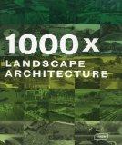 Portada de 1000X LANDSCAPE ARCHITECTURE 2 BOX EDITION BY BRAUN PUBLISHING AG (COR) (2010) HARDCOVER