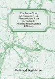 Portada de ZUR LEHRE VOM ALTERSVORZUG DER PFANDRECHTE: EINE CIVILISTISCHE ABHANDLUNG (GERMAN EDITION)