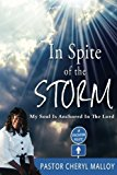 Portada de IN SPITE OF THE STORM: MY SOUL IS ANCHORED IN THE LORD BY CHERYL DENISE MALLOY (2011-10-29)