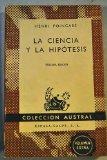 Portada de HENRI POINCARE: LA CIENCIA Y LA HIPÓTESIS (MADRID, 1963) AUSTRAL Nº 379
