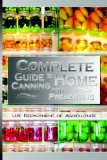 Portada de COMPLETE GUIDE TO HOME CANNING AND PRESERVING BY U.S. DEPT. OF AGRICULTURE (22-AUG-2008) PAPERBACK
