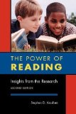 Portada de THE POWER OF READING: INSIGHTS FROM THE RESEARCH 2ND (SECOND) REVISED EDITION BY KRASHEN, STEPHEN D. PUBLISHED BY LIBRARIES UNLIMITED (2004)