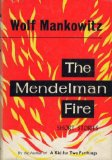Portada de THE MENDELMAN FIRE AND OTHER STORIES
