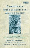 Portada de CORPORATE SUSTAINABILITY MANAGEMENT: THE ART AND SCIENCE OF MANAGING NON-FINANCIAL PERFORMANCE 1ST EDITION BY MCELROY, MARK W., VAN ENGELEN, J.M.L. (2011) HARDCOVER