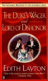 Portada de DUKES WAGER LORD OF DISHONOR BY EDITH LAYTON (JULY 28,2000)
