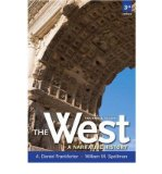 Portada de [( THE WEST: A NARRATIVE HISTORY, VOLUME ONE: TO 1660 PLUS NEW MYHISTORYLAB WITH ETEXT -- ACCESS CARD PACKAGE )] [BY: A. DANIEL FRANKFORTER] [JAN-2012]