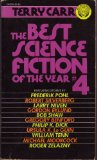 Portada de BEST SCIENCE FICTION OF THE YEAR # 4