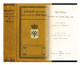 """Portada de RUSSIA BEFORE AND AFTER THE WAR / BY THE AUTHOR OF """"""""SOCIETY IN ST. PETERSBURG"""""""" &C. ; TRANSLATED FROM THE GERMAN (WITH LATER ADDITIONS BY THE AUTHOR) BY EDWARD FAIRFAX TAYLOR"""