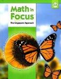 Portada de MATH IN FOCUS : THE SINGAPORE APPROACH STUDENT BOOK, GRADE 3A BY FONG HO KHEONG, CHELVI RAMAKRISHNAN, MICHELLE CHOO 1ST (FIRST) EDITION [HARDCOVER(2009/8/1)]