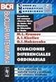 """Portada de ECUACIONES DIFERENCIALES ORDINARIAS. BREVE EXPOSICIÓN DEL MATERIAL TEÓRICO Y PROBLEMAS CON SOLUCIONES DETALLADAS. SERIE """"CURSO DE MATEMÁTICAS SUPERIORES EN PROBLEMAS RESUELTOS"""""""