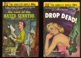 Portada de CASE OF THE HATED SENATOR / DROP DEAD!