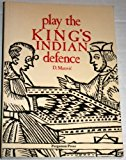 Portada de PLAY THE KING'S INDIAN DEFENCE (PERGAMON CHESS SERIES) FIRST EDITION BY MAROVIC, DRAZEN (1984) PAPERBACK