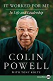 Portada de IT WORKED FOR ME LP: IN LIFE AND LEADERSHIP BY COLIN POWELL (2012-05-22)