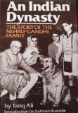 Portada de AN INDIAN DYNASTY: THE STORY OF THE NEHRU-GANDHI FAMILY 1ST AMERICAN EDITION BY TARIQ ALI (1986) HARDCOVER