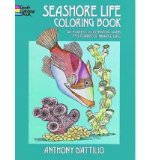 Portada de (SEASHORE LIFE COLORING BOOK) BY D'ATTILIO, ANTHONY (AUTHOR) PAPERBACK ON (06 , 1973)