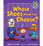 Portada de [( WHOSE SHOES WOULD YOU CHOOSE?: A LONG VOWEL SOUNDS BOOK WITH CONSONANT DIGRAPHS )] [BY: BRIAN P CLEARY] [APR-2009]