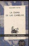 Portada de LA DAMA DE LAS CAMELIAS