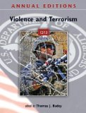 Portada de ANNUAL EDITIONS: VIOLENCE AND TERRORISM 12/13 13TH (THIRTEENTH) EDITION BY BADEY, THOMAS PUBLISHED BY MCGRAW-HILL/DUSHKIN (2011)