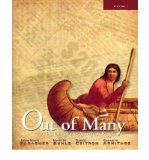 Portada de [( OUT OF MANY: A HISTORY OF THE AMERICAN PEOPLE, VOLUME 1 (CHAPTERS 1-17) WITH NEW MYHISTORYLAB -- ACCESS CARD PACKAGE )] [BY: JOHN MACK FARAGHER] [MAY-2011]