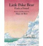 Portada de [( LITTLE POLAR BEAR FINDS A FRIEND )] [BY: HANS DE BEER] [JAN-1999]