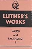 Portada de [(LUTHER'S WORKS: WORD AND SACRAMENT I V. 35)] [BY (AUTHOR) MARTIN LUTHER] PUBLISHED ON (JANUARY, 1960)
