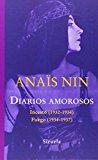Portada de DIARIOS AMOROSOS (LIBROS DEL TIEMPO) DE ANAÏS NIN (15 OCT 2014) TAPA BLANDA