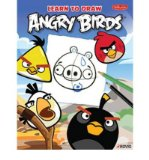 Portada de [( LEARN TO DRAW ANGRY BIRDS: LEARN TO DRAW ALL OF YOUR FAVORITE ANGRY BIRDS AND THOSE BAD PIGGIES! )] [BY: WALTER FOSTER CREATIVE TEAM] [NOV-2012]