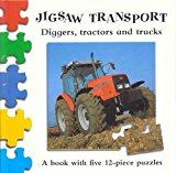 Portada de JIGSAW TRANSPORT: DIGGERS TRACTORS BY MACMILLAN CHILDREN'S BOOKS (2000-03-24)