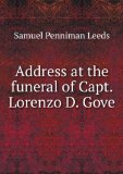 Portada de ADDRESS AT THE FUNERAL OF CAPT. LORENZO D. GOVE