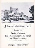 Portada de BACH - CONCIERTO EN RE MAYOR PARA OBOE DŽAMORE Y PIANO (MEHL/WINKLHOFER)