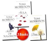 Portada de NOBLE PRIZE WINNER TONI MORRISON COLLECTION 3 BOOKS SET (BELOVED, SULA, SONGS OF SOLOMON)