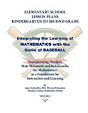 Portada de [(ELEMENTARY SCHOOL LESSON PLANS, GRADES K-2, INTEGRATING THE LEARNING OF MATHEMATICS WITH THE GAME OF BASEBALL)] [BY (AUTHOR) JAMES SCHOEDLER] PUBLISHED ON (JUNE, 2007)
